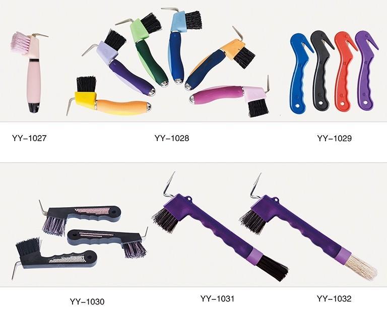 Colorful Horse hoof pick - horse soft touch hoof pick/Horse Hoof Pick /horse hoof pick with plastic handle