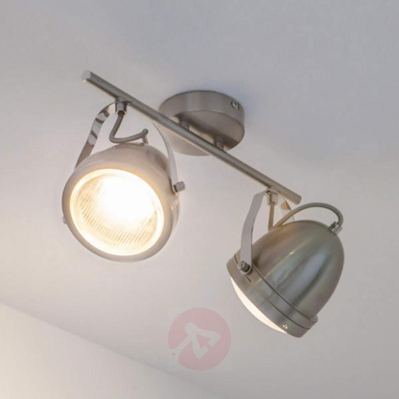 Attractive Jella spotlight, matt nickel - indoor-lighting