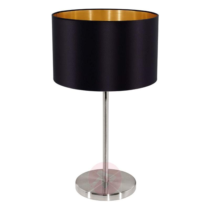 Simple Lecio fabric table lamp - Table Lamps