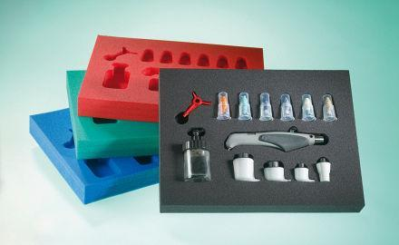 Packaging products - PE foam case inserts