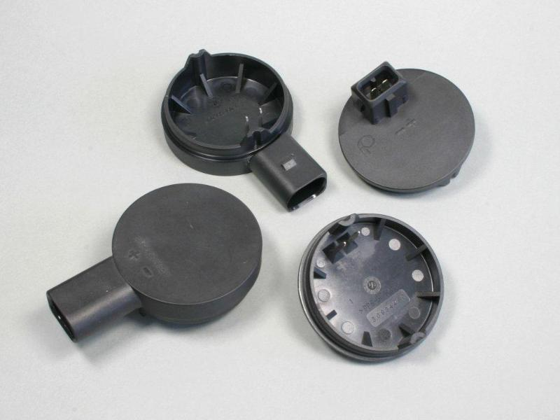 Plastic parts - Plug caps made of Fortron PPS