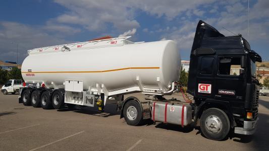 Fuel Tank Semi Trailers - Tanker Trailer | GT Semi Trailer