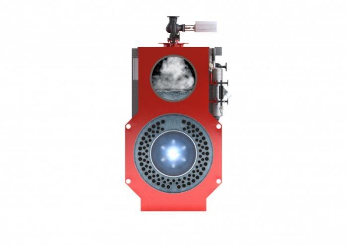 Bosch Caldera de vapor - Universal U-MB - Bosch U-MB - Caldera de vapor de tres pasos de humo en diseño modular