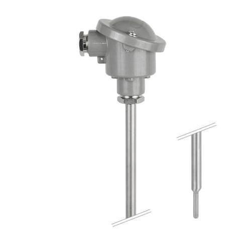 OPTITEMP TCA-P20 - Sensor de temperatura de termopar / de brida / con termopozo
