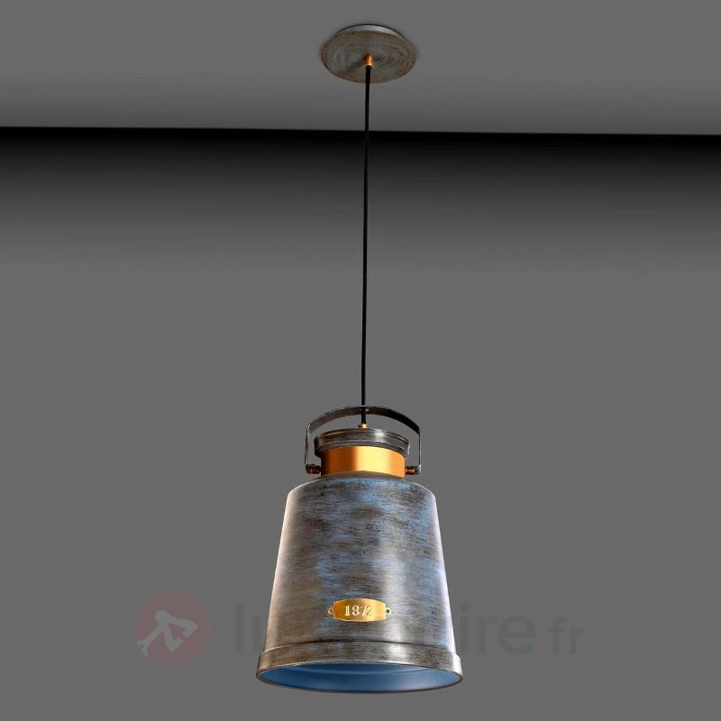 Suspension VINTAGE gris antique - Toutes les suspensions