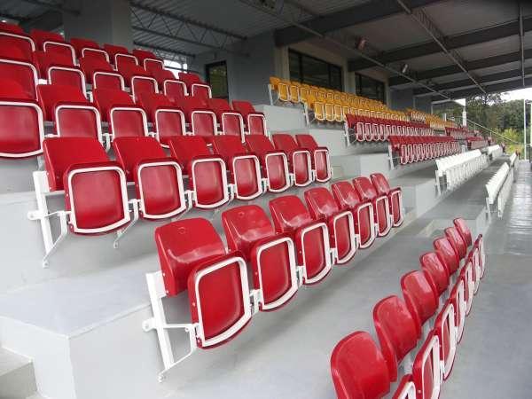 Tip-up stadium seat OLIMP
