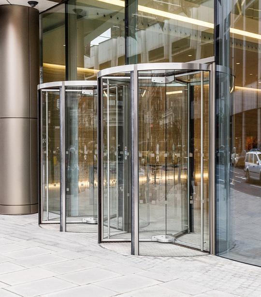 Full Vision Revolving Doors