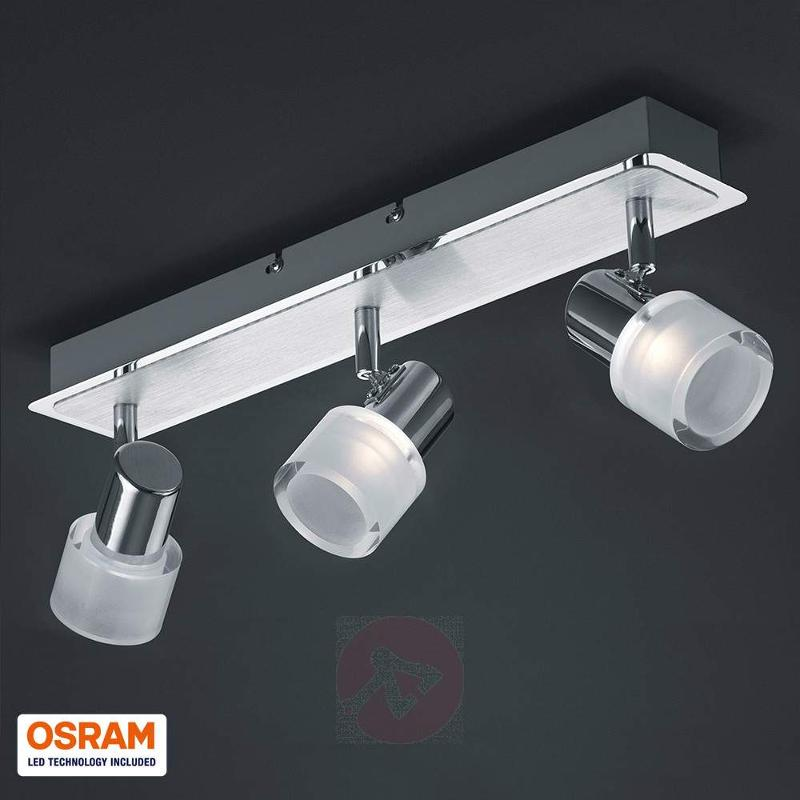 Bright LED ceiling light Gaye, three-bulb - Ceiling Lights