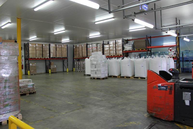 Stockage alimentaire sous certification BIO - sous température dirigée