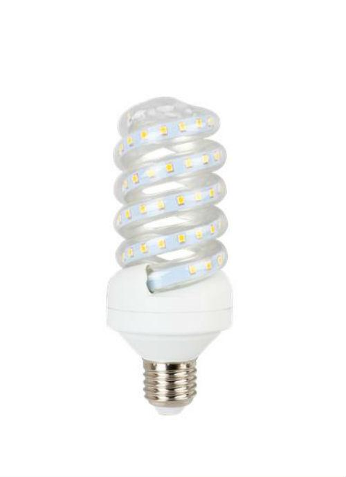 Lampadine LED a spirale E27 - 15W trasparente 3000/4000/6400K 1300/1350/1400lm