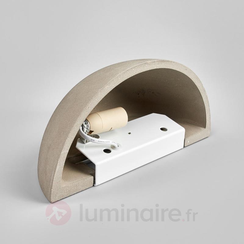 Applique en béton de forme semi-sphérique Milla - Toutes les appliques