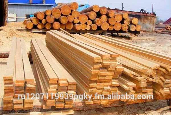 Timber From Fir, Pine and Cedar. Natural Moisture and Dried.