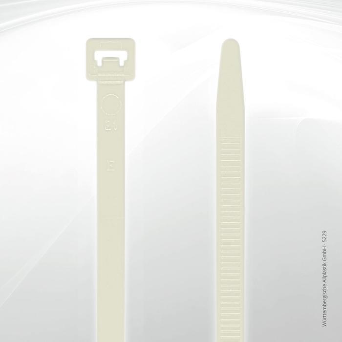 Allplastik-Kabelbinder® cable ties, standard - 5229 (natural)