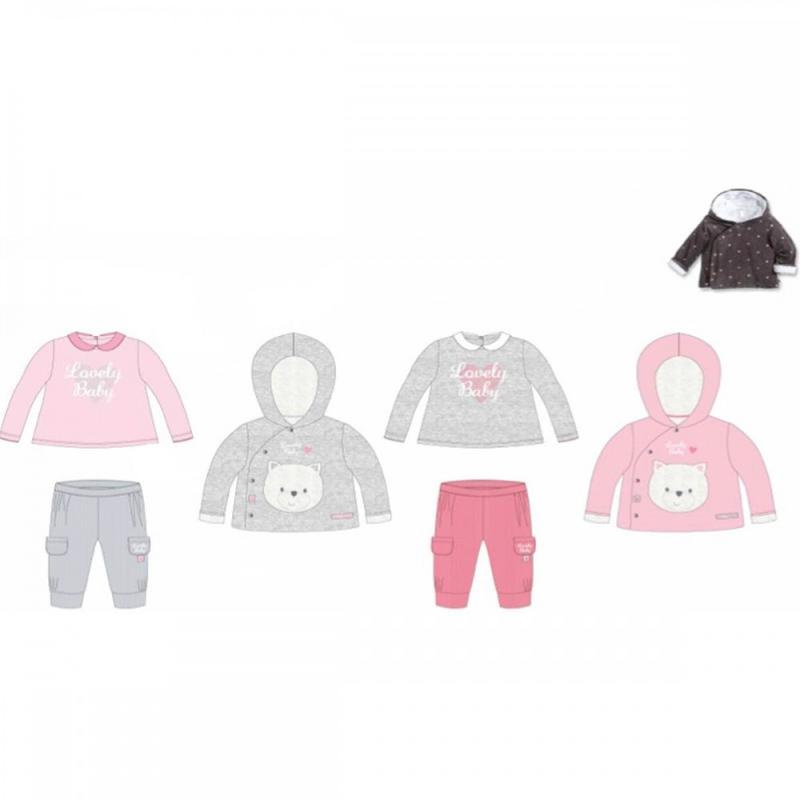10x Ensembles 3 pieces Tom Kids du 3 au 24 mois - Vêtement hiver