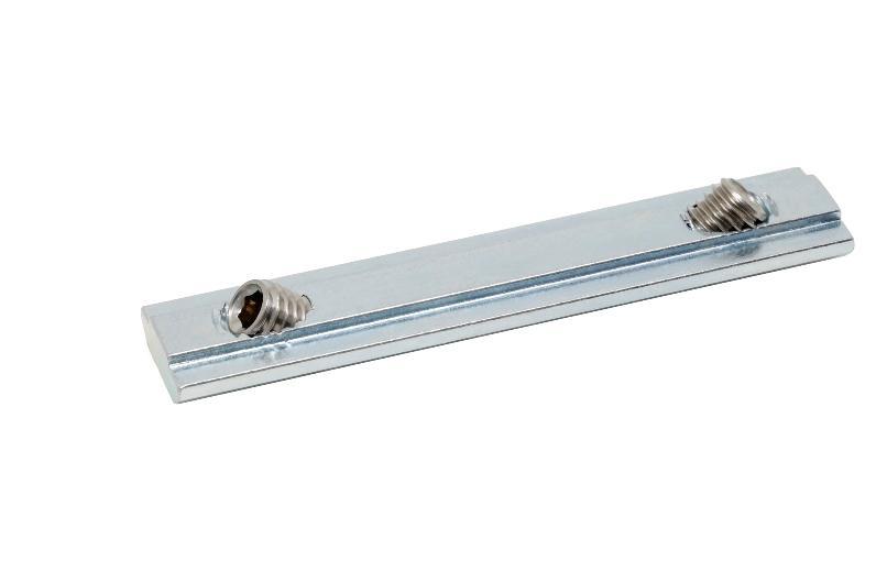 Stoßverbinder - STV - 08 - M8x12 verzinkt -