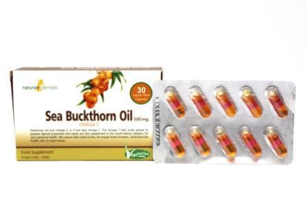 Sea Buckthorn Oil Capsules - Sea Buckthorn Oil Capsules