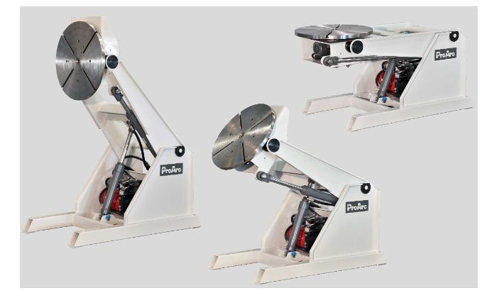 3 axis hydraulic welding positioner - ProArc PT-H series