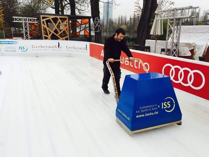 EISPFLEGE | Für Eisbahnen und Eishallen - null