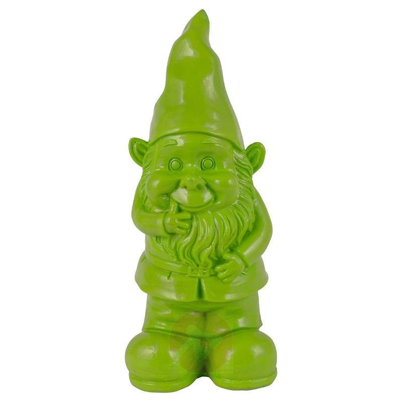 Green decorative solar light Gnome Bernd - Solar Lights