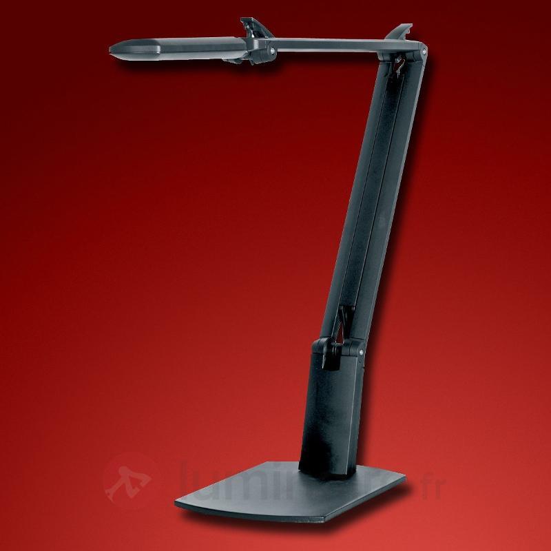 Lampe à poser Hi FLOW LED de haute qualité noir - Lampes à poser LED