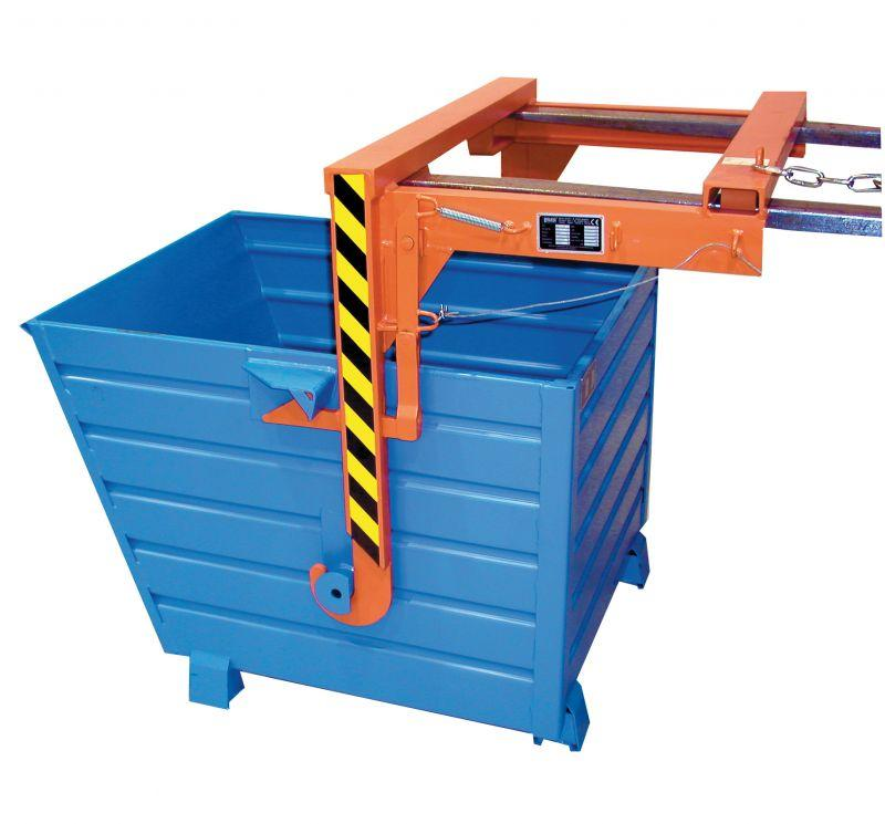 Stacking Tipper type BSK - Tipper can be stacked and can be emptied by the traverse