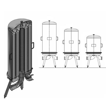 Hygienic Cartridge Filter Housings -