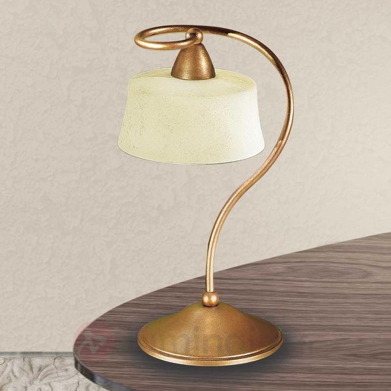 Lampe à poser Alessio à 1 lampe - Lampes à poser classiques, antiques