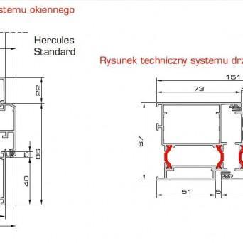 Hercules - Aluminiumfenster