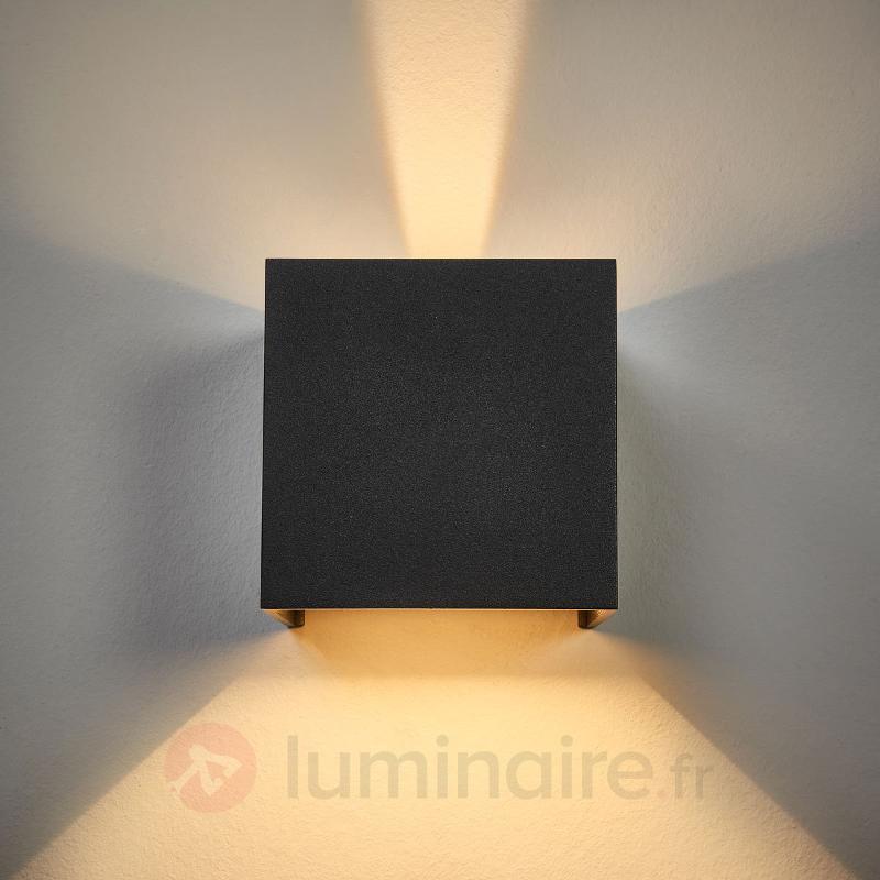 Applique d'extérieur LED SIRI 44 aspect graphite - Appliques d'extérieur LED