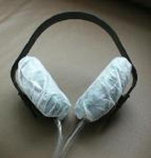 Cubiertas de auriculares sanitarias desechables -