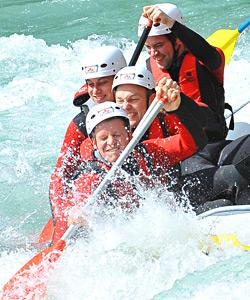 Rafting mit Outdoorplanet