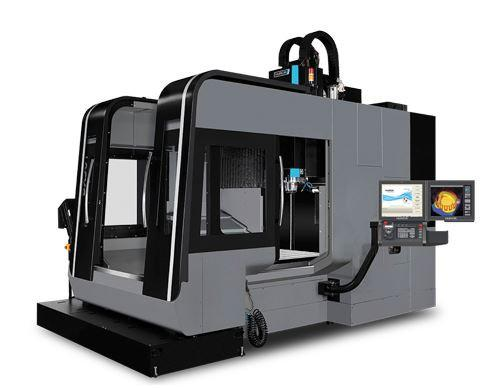 Double-Column-3-Axis-Machining-Center - BX 50i - HURCO´s BXi double-column series for high-speed machining