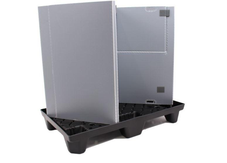 Grand bac pliable: Mega-Pack 600 - Grand bac pliable: Mega-Pack 600, 1000 x 600 x 900 mm