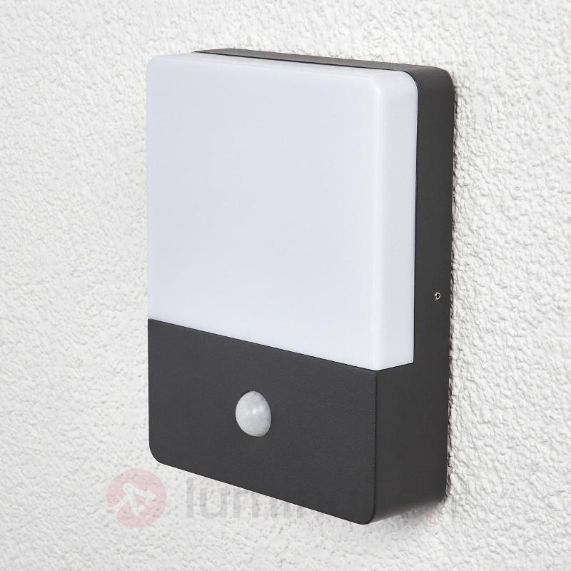 Applique avec détecteur de mouvement Annu LED - Appliques d'extérieur avec détecteur