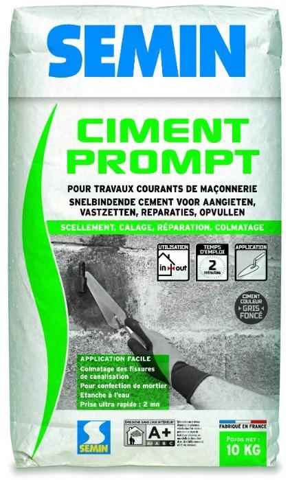 CIMENT PROMPT - Ciment prompt