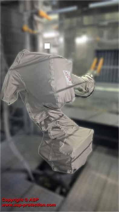 Roboterschutz Oberflächenbehandlung - TELUPRO