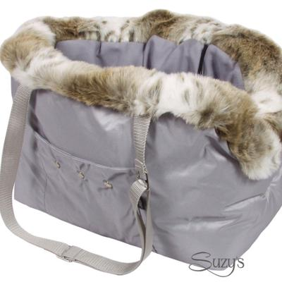Taft carrier with fur and bag for Pets
