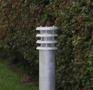 Borne lumineuse Klaus IP56 galvanisée à chaud - Toutes les bornes lumineuses