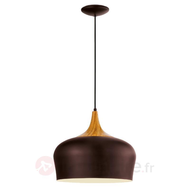 Obregon - jolie suspension en brun - Cuisine et salle à manger