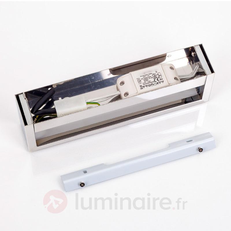 Applique LED Cilian chromée - Appliques LED