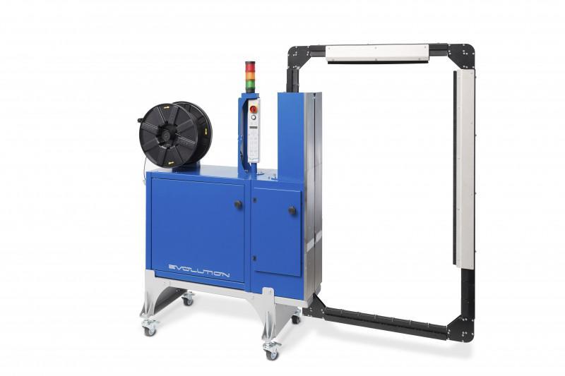 Evolution SoniXs MS-6 KR - Maquina flejadora automática de sellado lateral con solapas en el arco