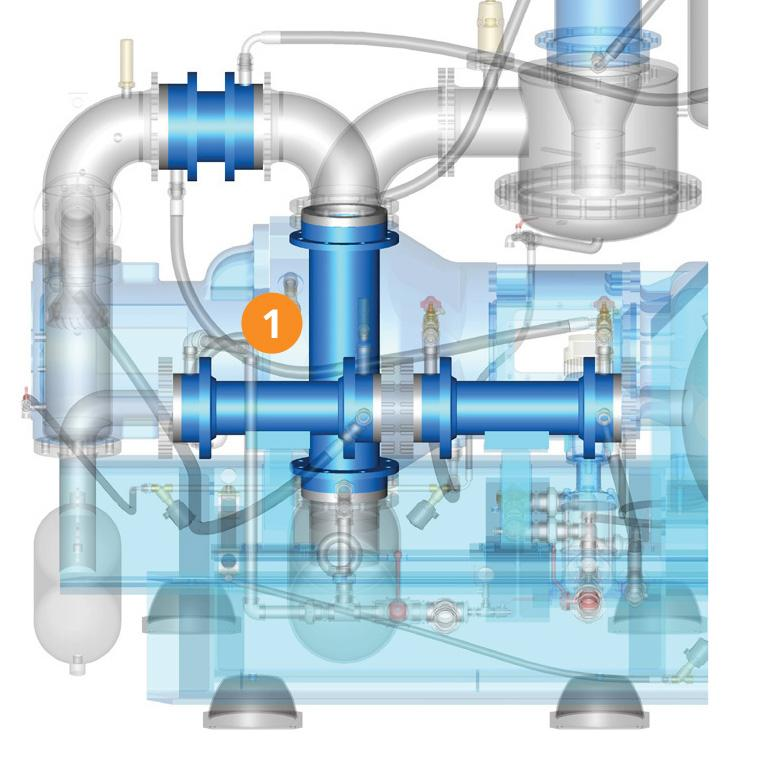 HIGH PRESSURE COMPRESSORS - Energy savings device