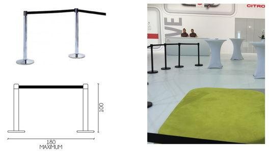 Security cordon - For stands or showrooms