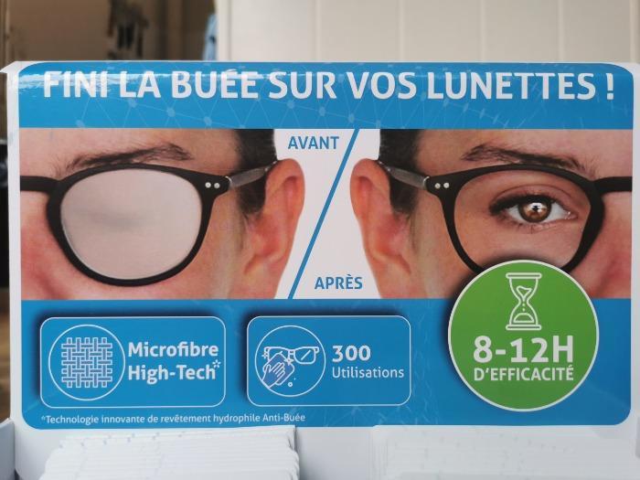 ESSUIE-VERRES ANTI-BUÉE EN MICROFIBRE HIGH-TECH VARIONET - 300 UTILISATIONS - 8H A 12H D'EFFICACITE