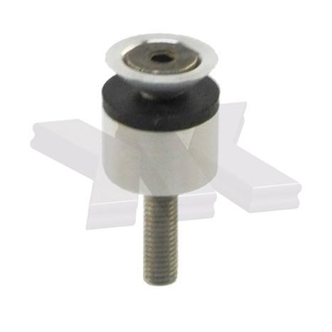 Countersunk point fitting, rigid, Ø 16/16 mm - Point fittings rigid