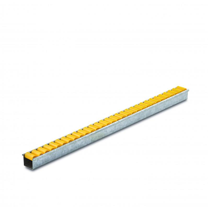 Roller rails - Roller rails for conveying lightweight goods