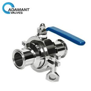 Sanitary Cavity Filled Ball Valve