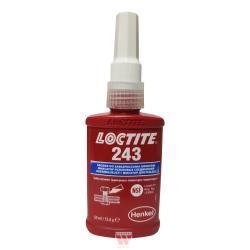 Loctite 243 (Threadlocking adhesives) - LOCTITE 243 is a medium strength threadlocker.