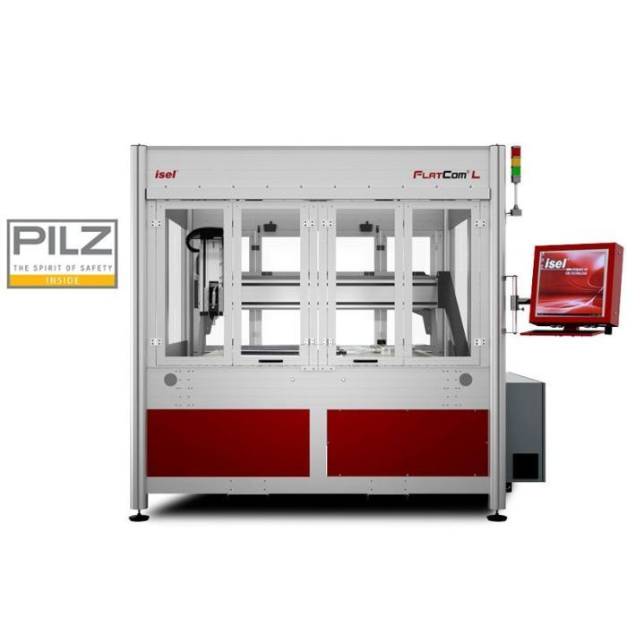 Серия FlatCom® L с ЧПУ – Фрезерный станок - Большая площадь обработки от 1700 до 2500 мм