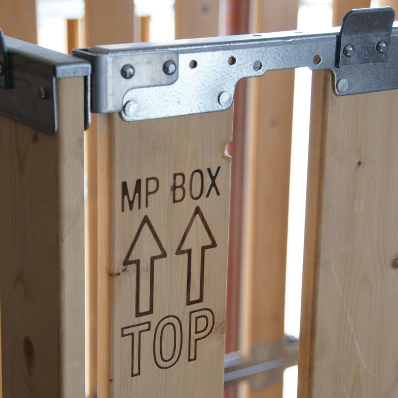 4 Paletten Aufsatzrahmen (höhe 1100mm) - MP Multibox MPB.b110